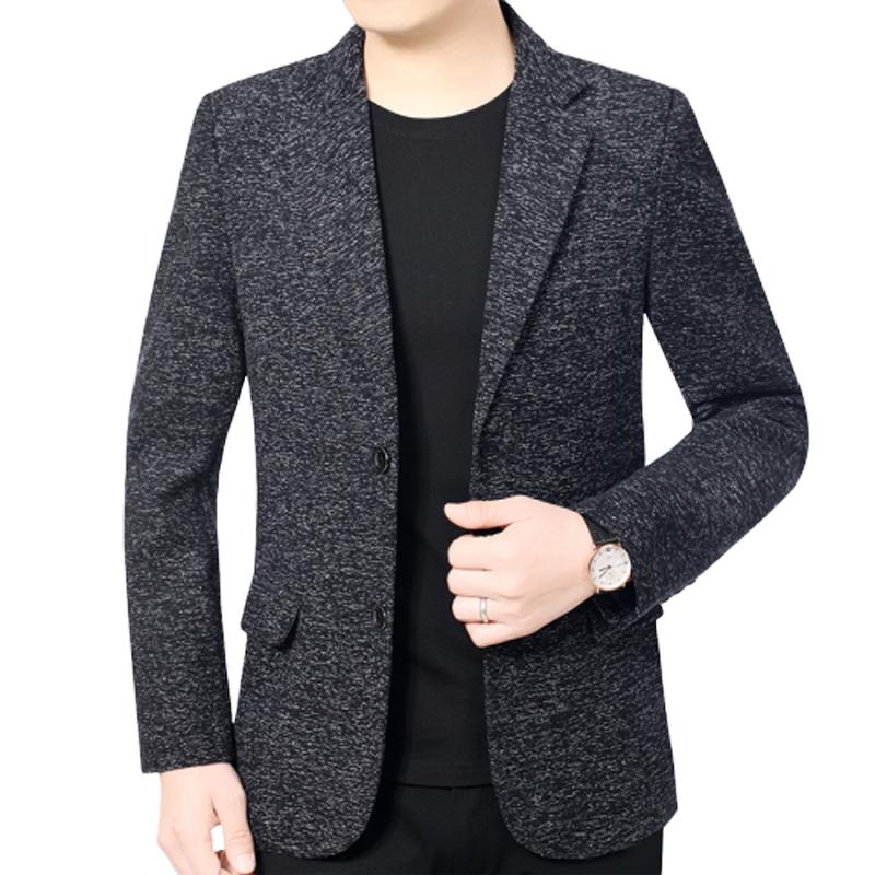 Áo khoác dạ nam hai khuy dáng vest lịch lãm cao cấp