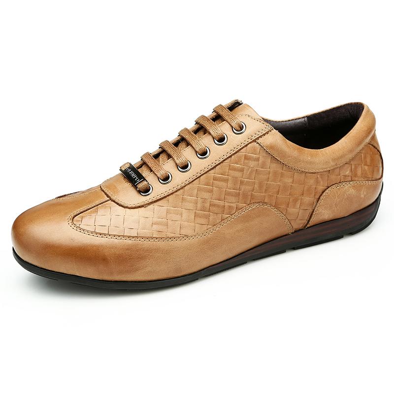 Giày da nam Olunpo QHT1436 tinh tế