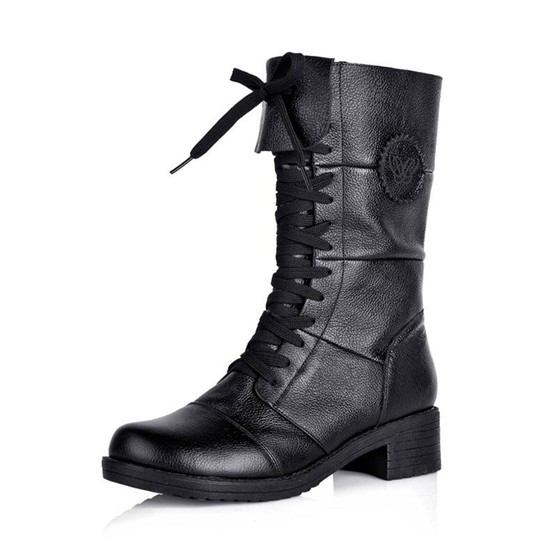 Combat boot buộc dây YiYa YY998-6