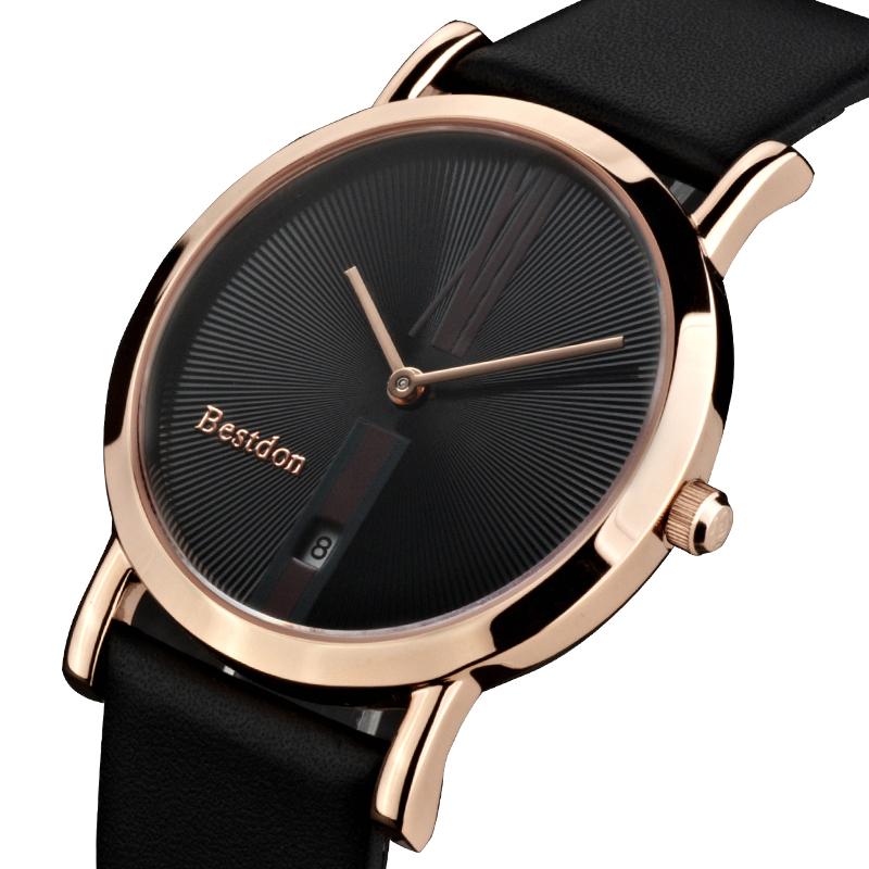 Đồng hồ nam siêu mỏng Bestdon BD9951AG - cỡ vừa