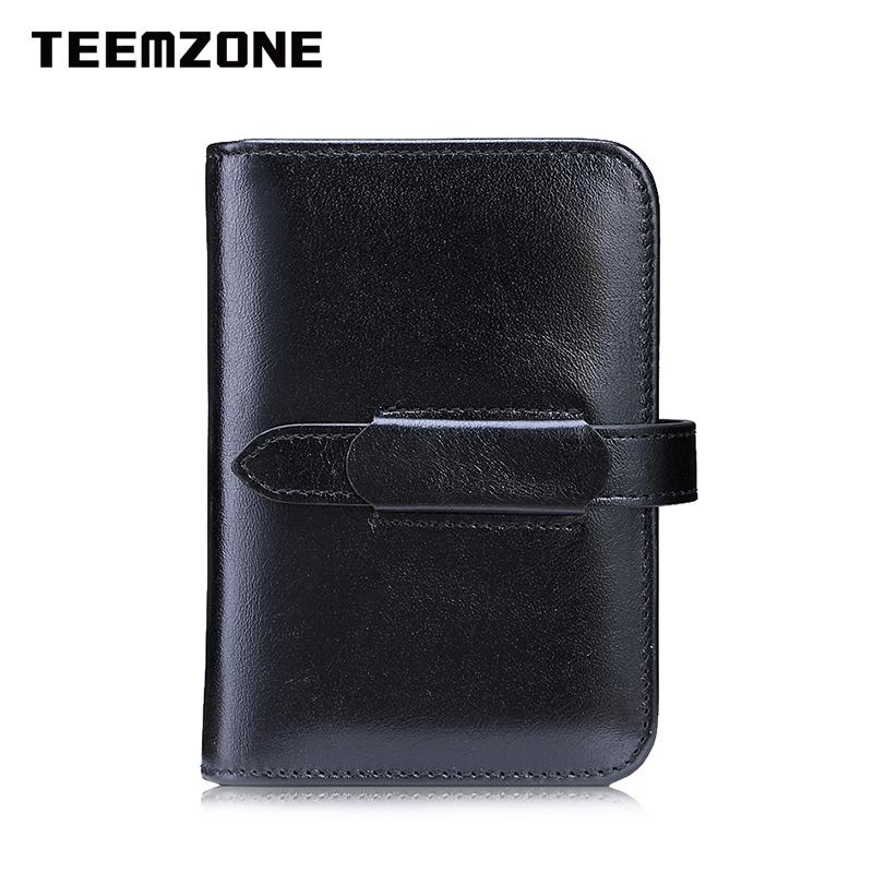 Ví da đựng card cho nữ Teemzone K848
