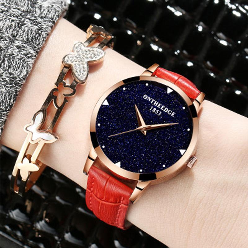 Đồng hồ nữ Ontheedge Đính đá thạch anh