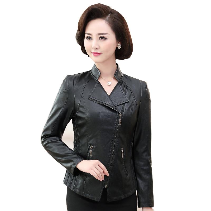 Áo khoác da kiểu vest khoá kéo SMT