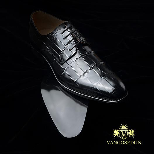 Giày da nam VANGOSEDUN Y1021 cá tính
