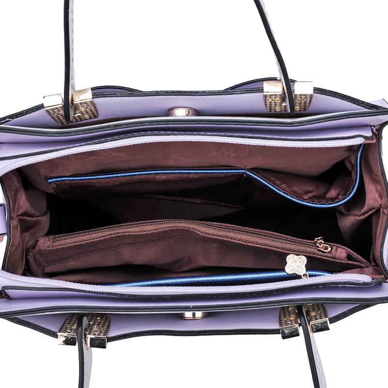 Túi xách nữ Binnitu 7320 Nơ trang trí nổi bật