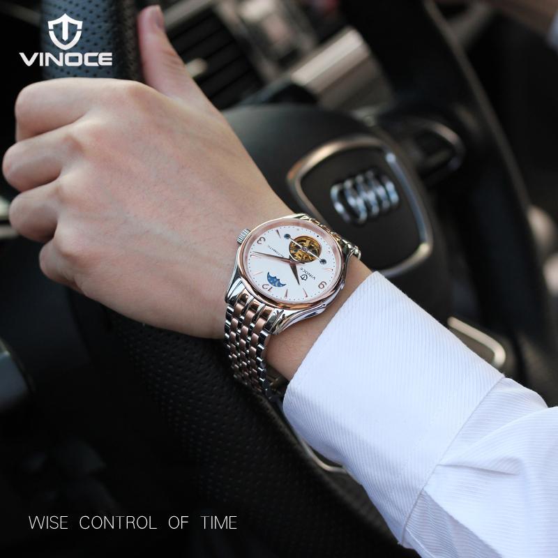 Đồng hồ nam lộ máy cơ Vinoce V633231G