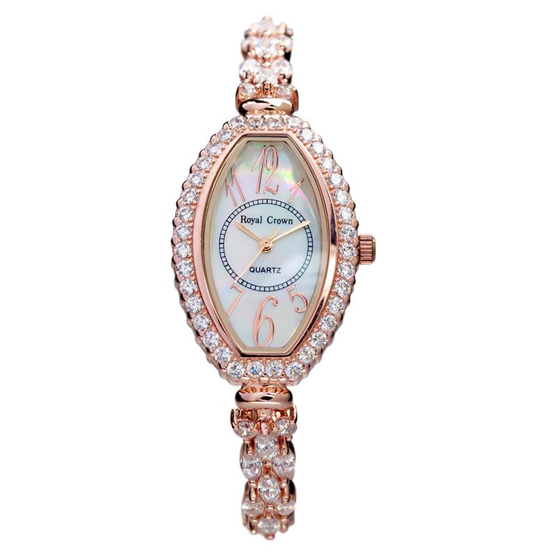Đồng hồ nữ gắn đá Royal Crown