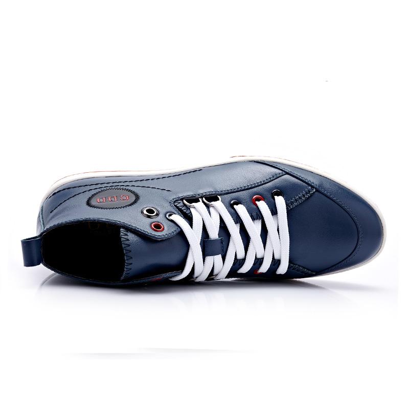 Giày da nam cổ cao CDD 1019 phá cách