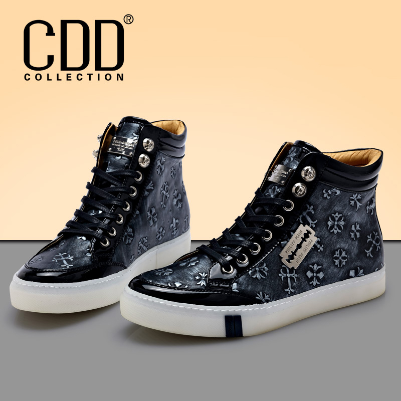Giày da nam CDD 8259 cao cổ thời trang
