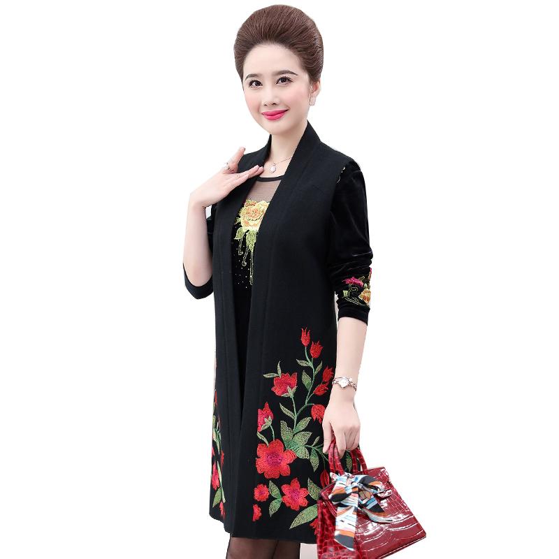 Bộ váy áo nhung thêu hoạ tiết SMT