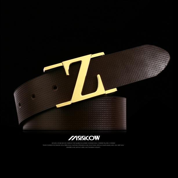 Dây lưng nam Misisicow mặt chữ Z