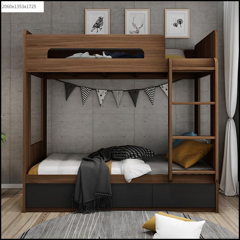 Giường tầng trẻ em phong cách Bắc Âu