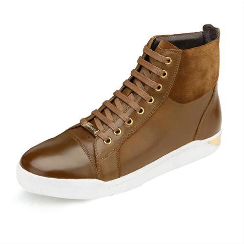 Giày tăng chiều cao Olunpo DHT1444 Chất liệu da thật