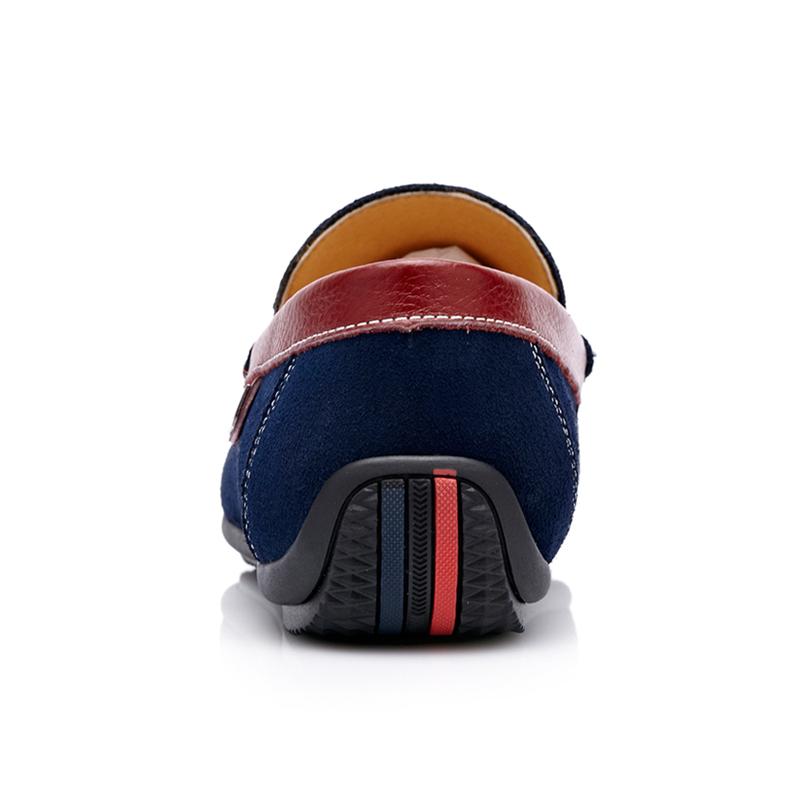 Giày lười slip-on nam da lộn CDD D531