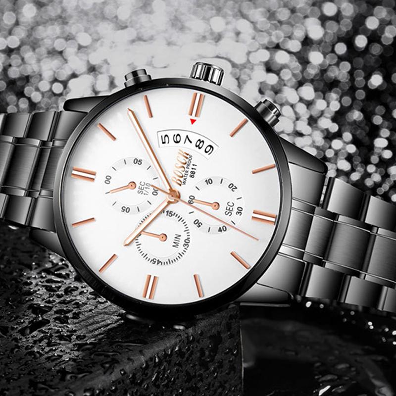 Đồng hồ đa năng siêu mỏng hiển thị dạ quang