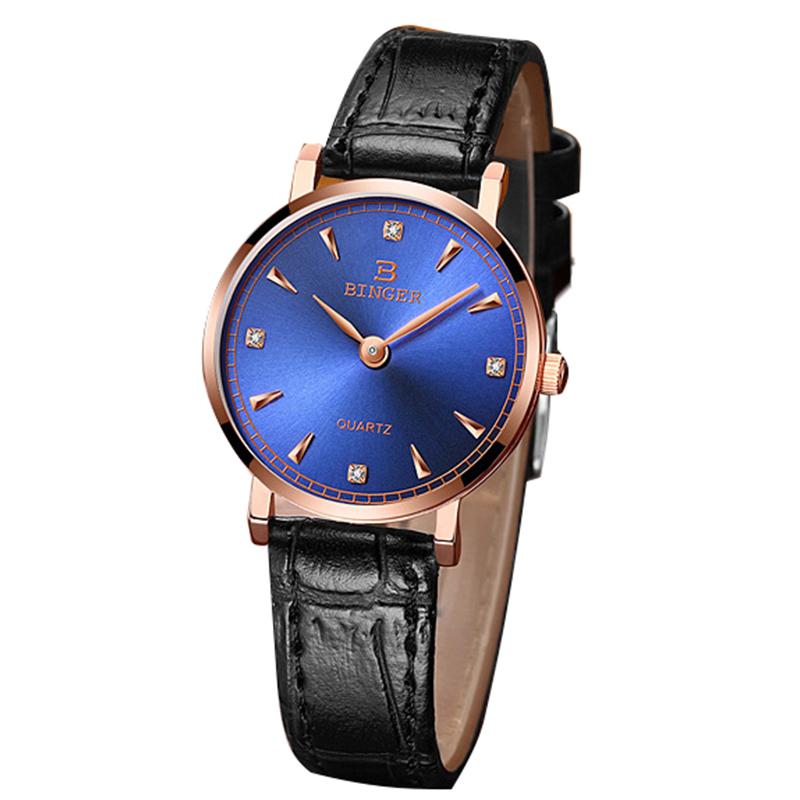 Đồng hồ nam Binger siêu mỏng style retro