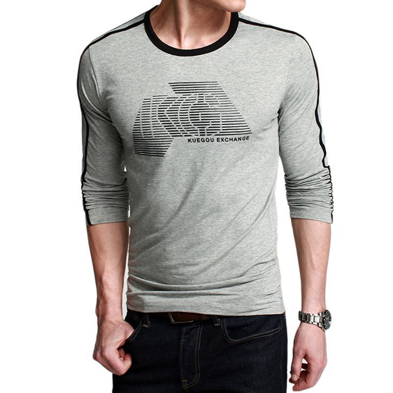 Áo T-shirt nam K-Jeans họa tiết chữ KG