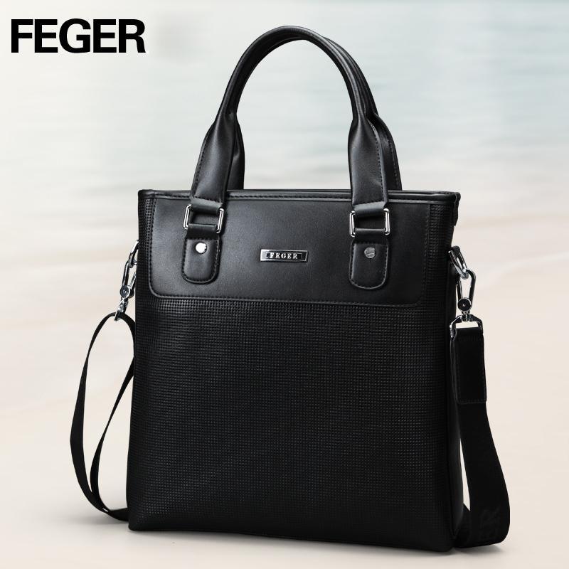 Túi da nam Feger 9808-2