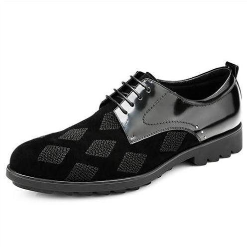 Giày nam Olunpo QHT1434 họa tiết quả trám