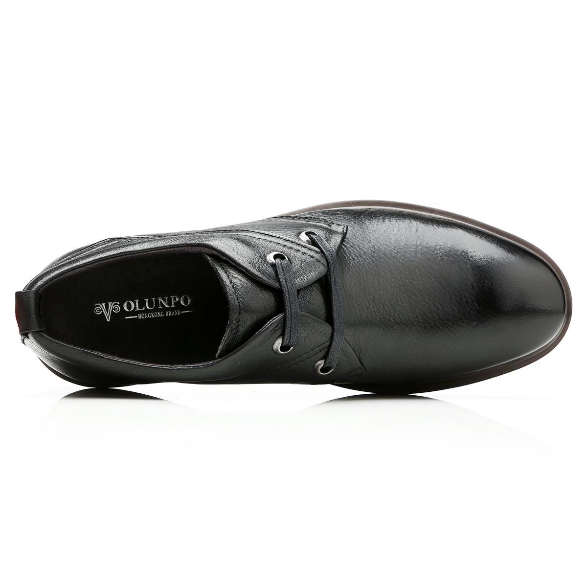 Giày da nam Olunpo QZK1404 hiện đại