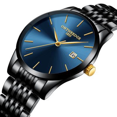 Đồng hồ siêu mỏng đá thạch anh Ontheedge