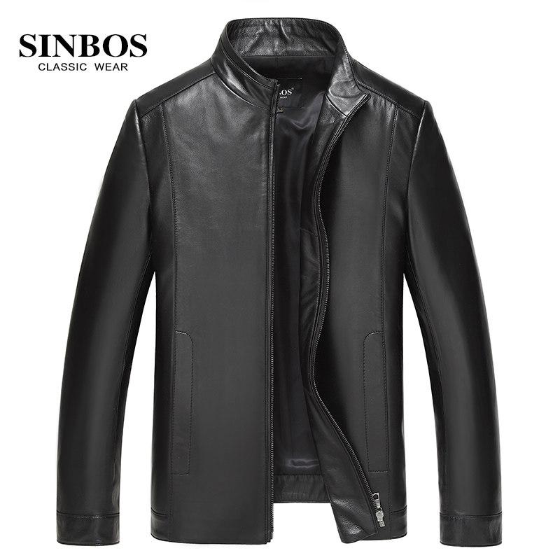 Áo khoác da cừu cổ đứng SinBos