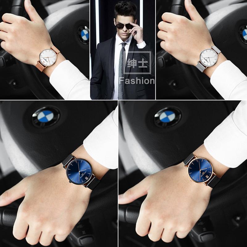Đồng hồ nam siêu mỏng Ontheedge