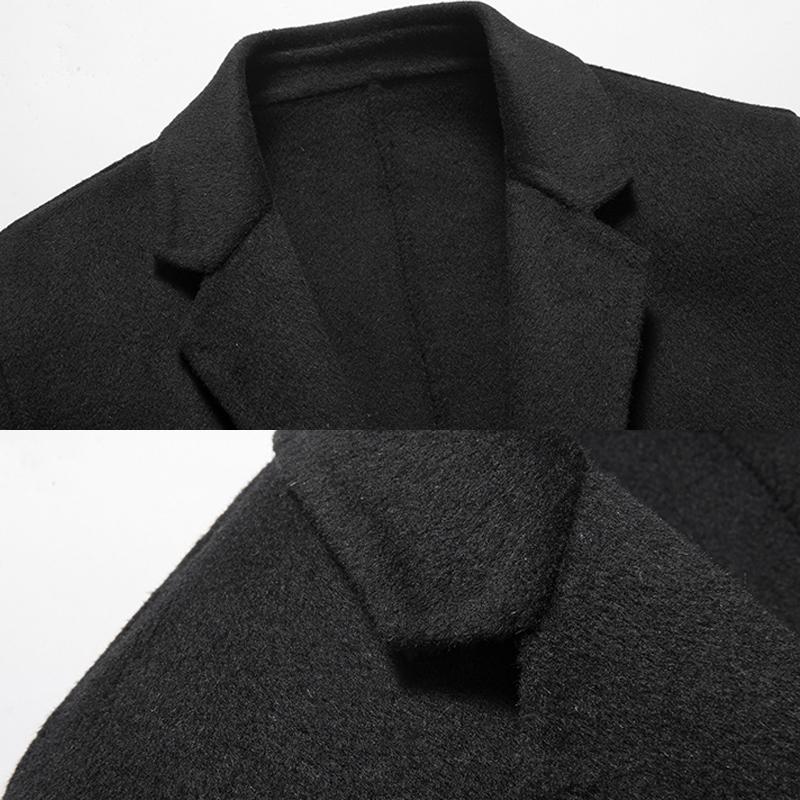 Áo khoác dạ lông cừu phong cách hoàng gia Anh