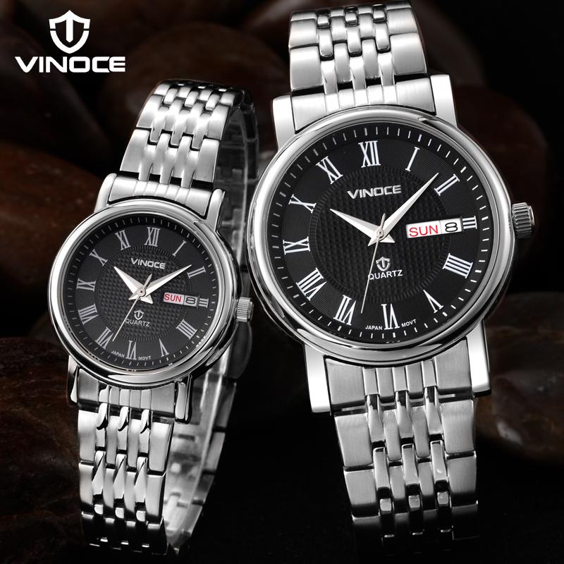 Đồng hồ nam số la mã Vinoce V8373