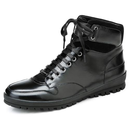 Giày da nam Olunpo DHT1443 cao cổ