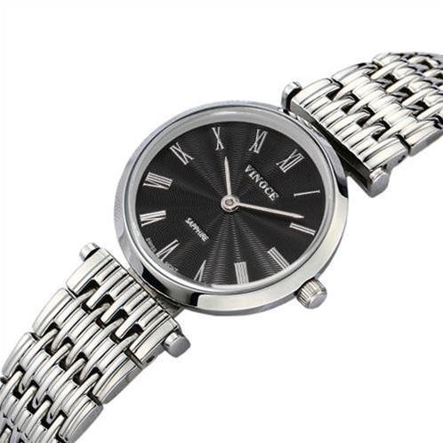 Đồng hồ nữ Vinoce 8369-L mặt kính sapphire cao cấp