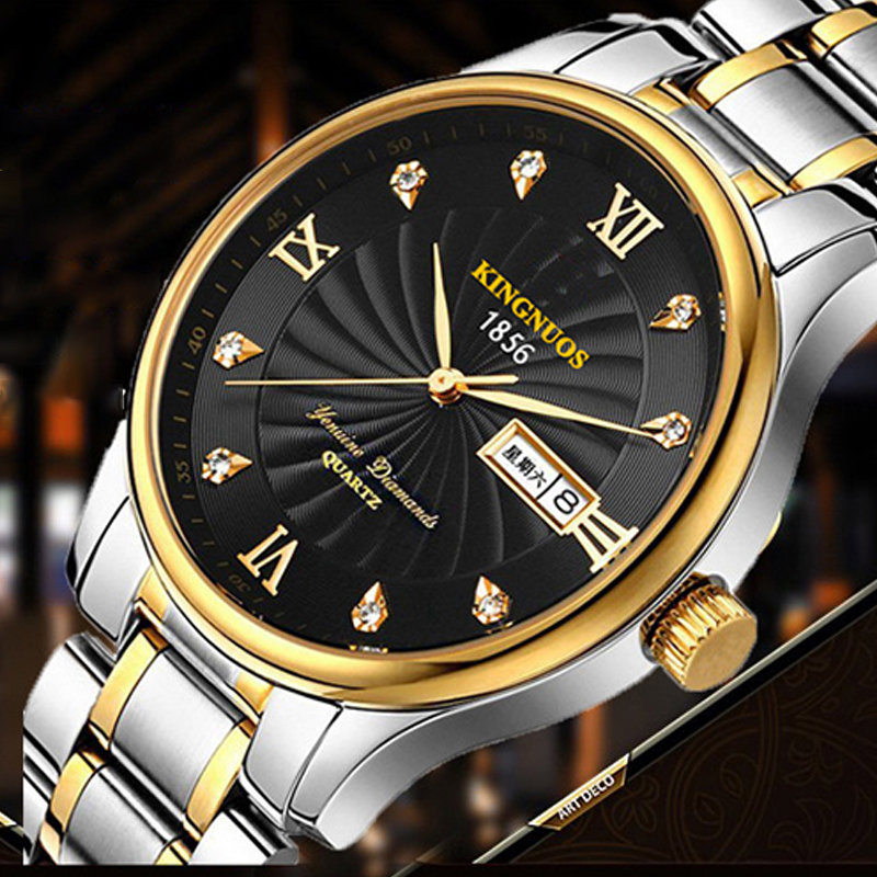 Đồng hồ Kingnuos siêu mỏng phong cách Hoàng gia