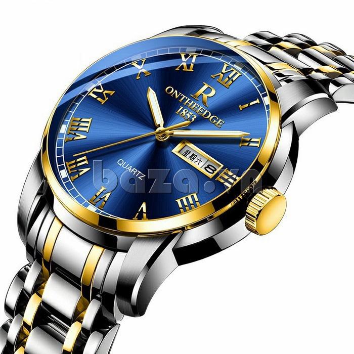 Đồng hồ doanh nhân nam số la Mã Ontheedge