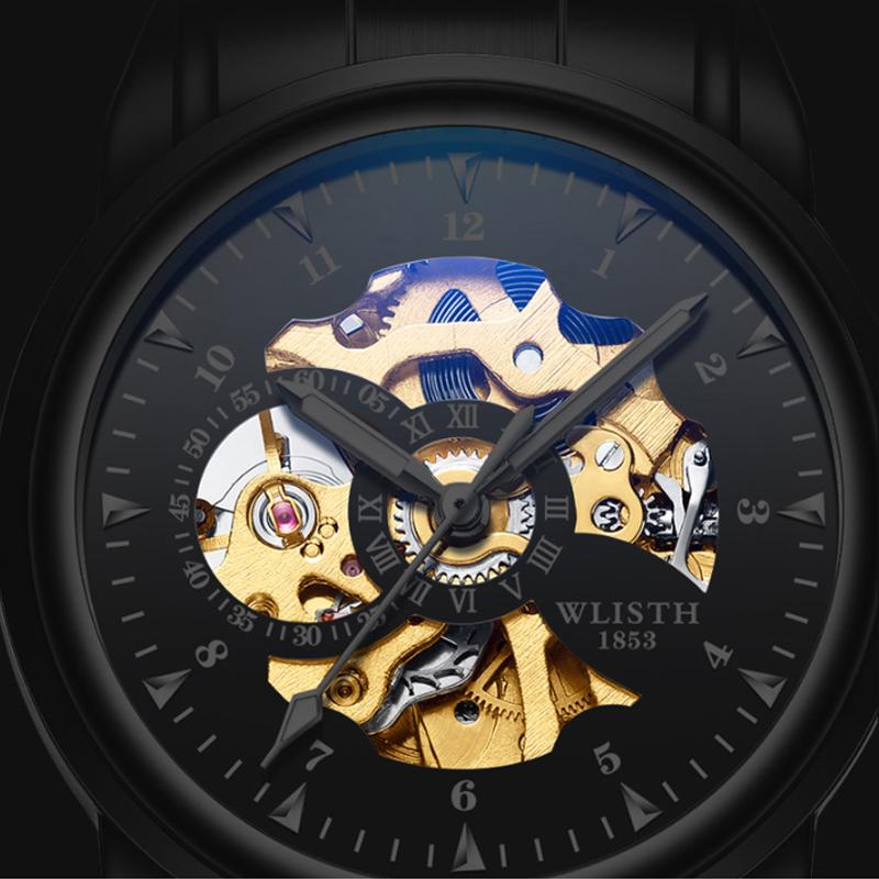 Đồng hồ chạm rỗng Wlisth Volley Blue