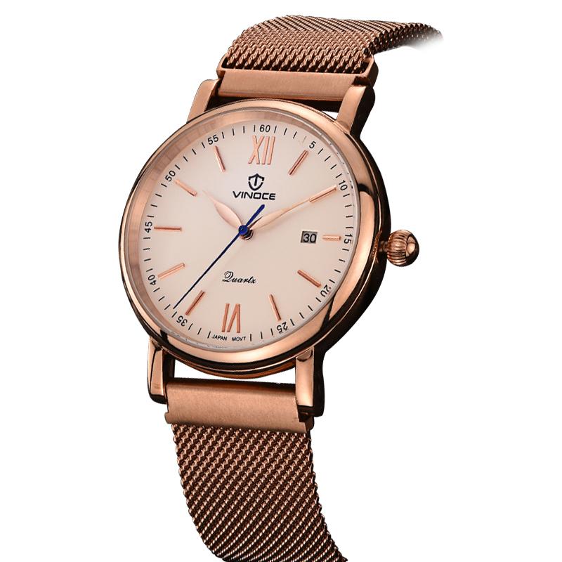 Đồng hồ nam phong cách Gothic Vinoce