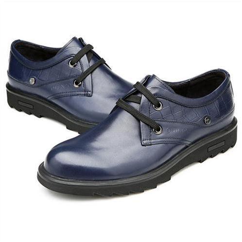 Giày da nam Olunpo QHL1402 độc đáo