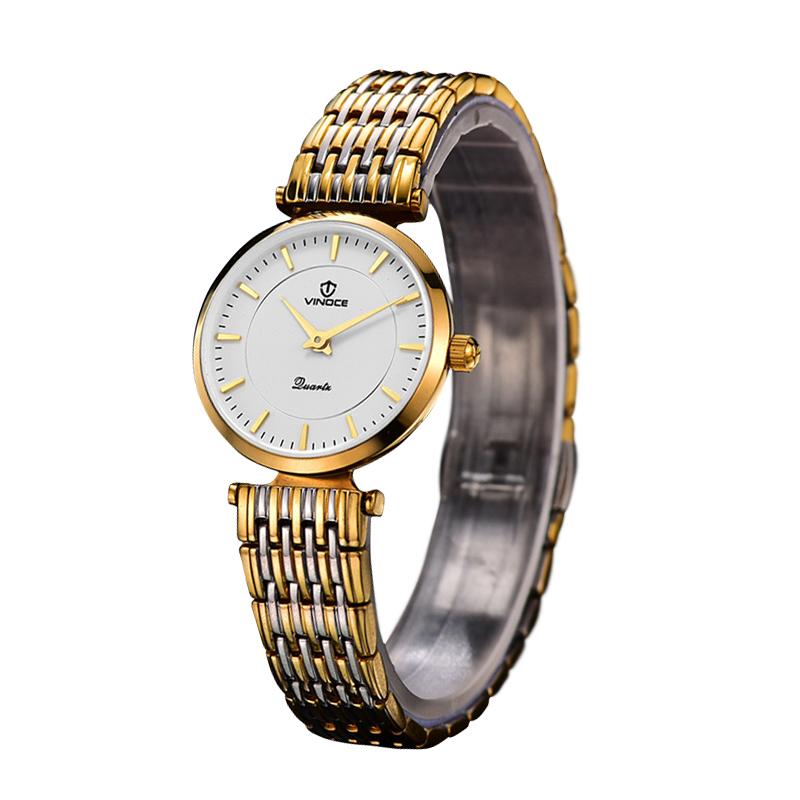Đồng hồ nữ Vinoce viền đính đá pha lê