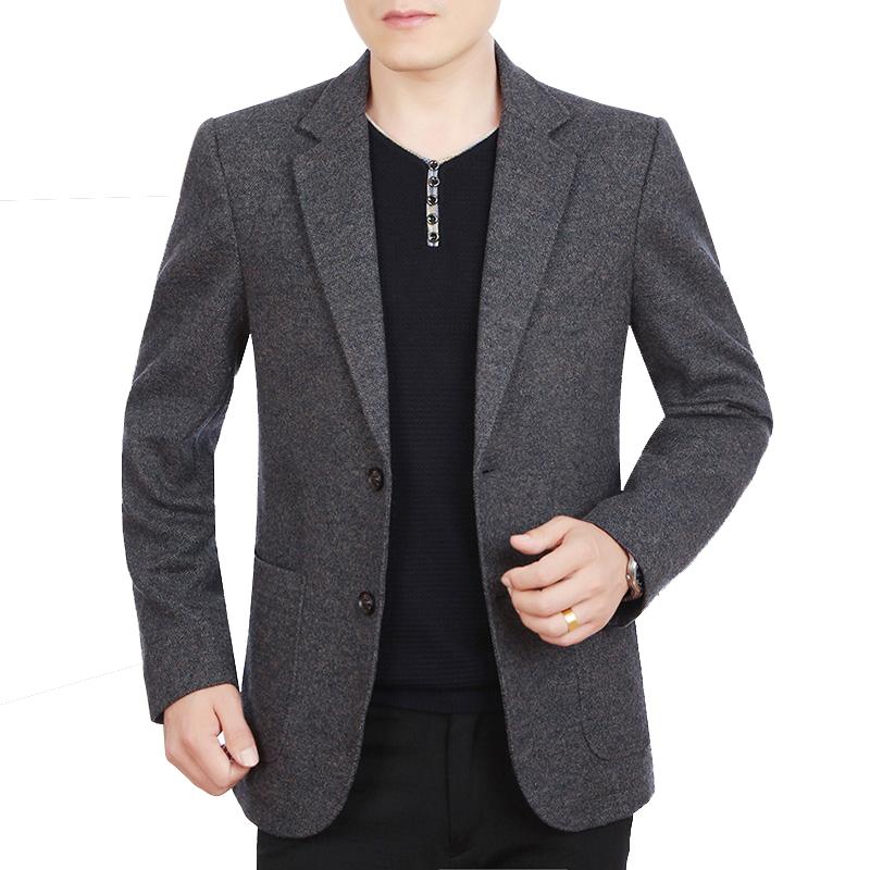 Áo vest dạ lông cừu 2 khuy