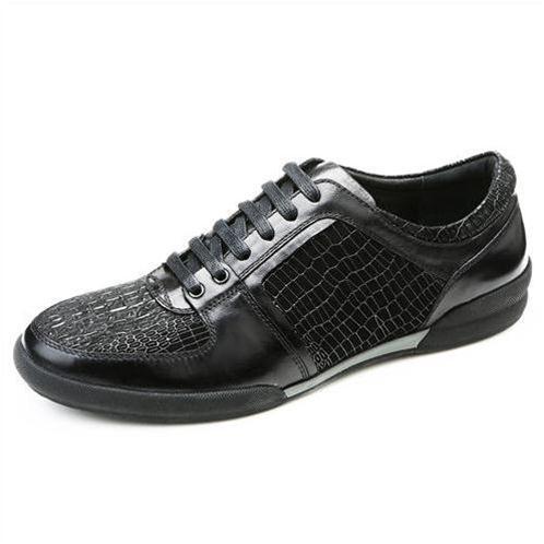 Giày da nam Olunpo QHT1425 tạo vân độc đáo