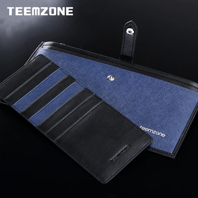Ví nam dáng dài Teemzone Q397