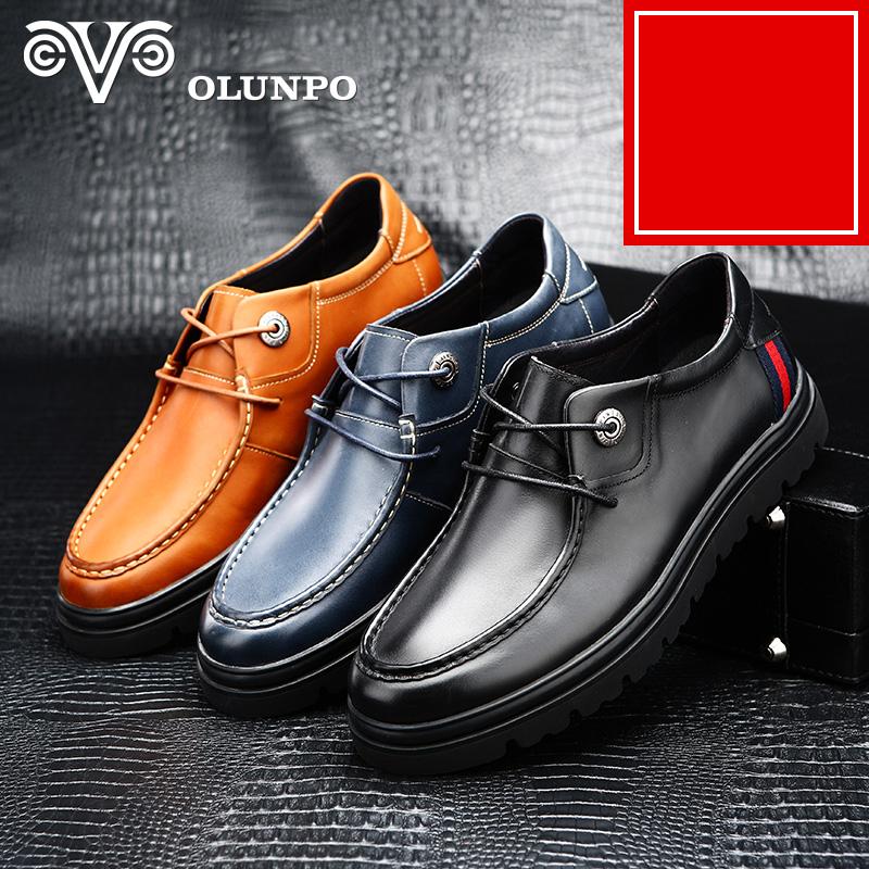 Giày da nam thời trang Olunpo QXYF1403