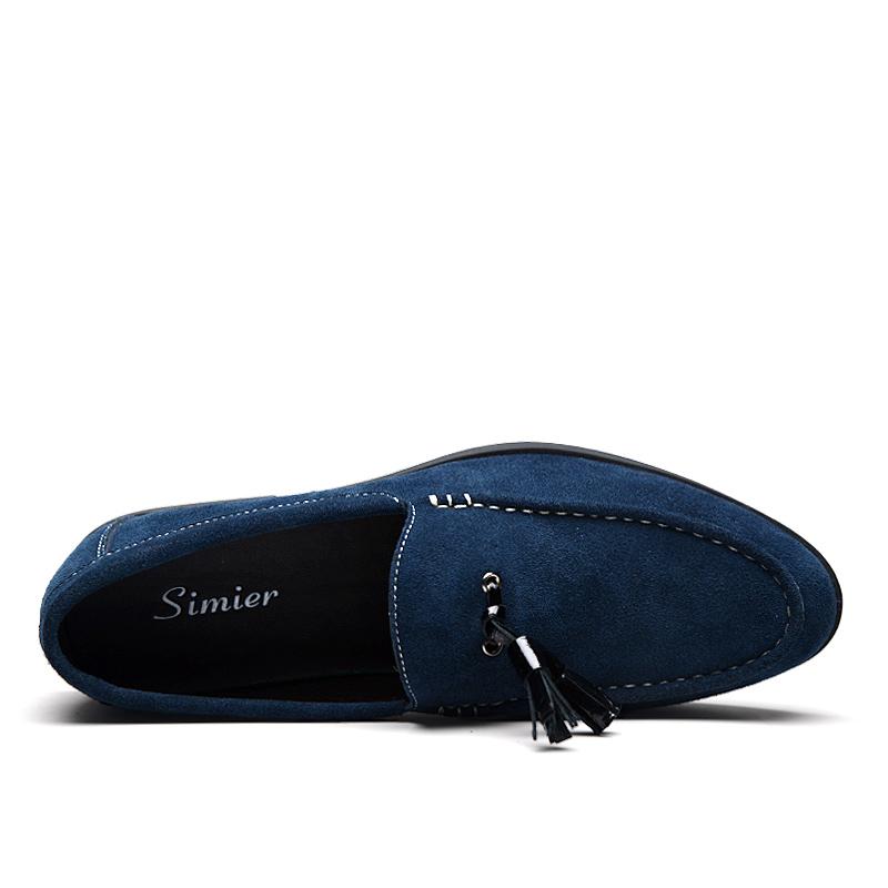 Giầy mọi nam da lộn Simier 8102 thời trang