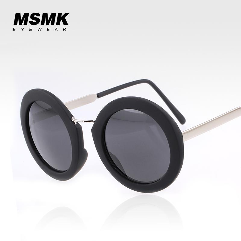 Kính râm nữ mắt tròn MSMK 1342