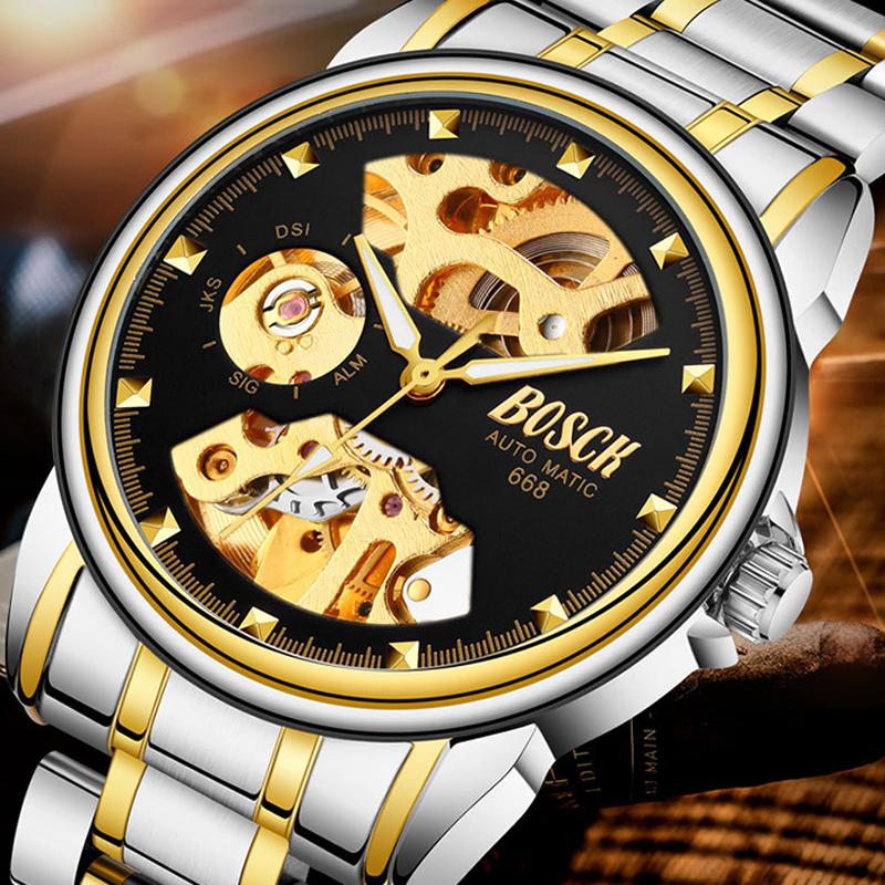 Đồng hồ cơ tự động Bosck Royal