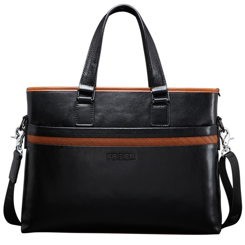 Túi da nam FG054 vuông kiểu ngang