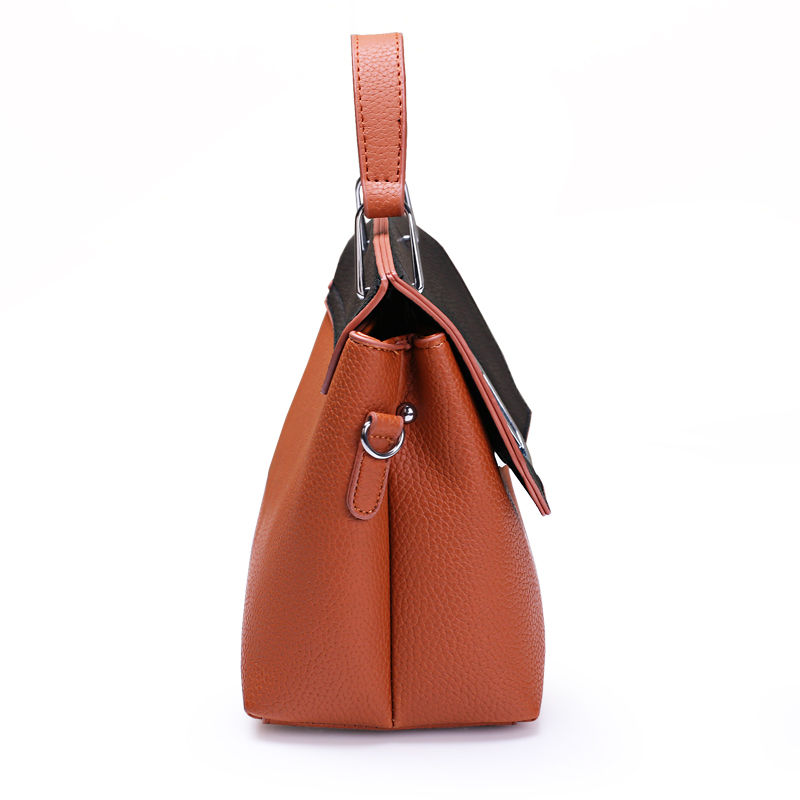 Túi satchel phối màu khóa chữ O Balana