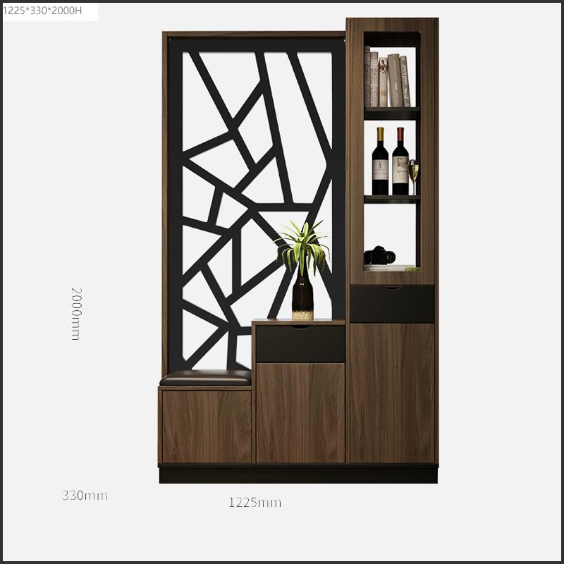 Tủ bình phong trang trí kiểu dáng Bắc Âu
