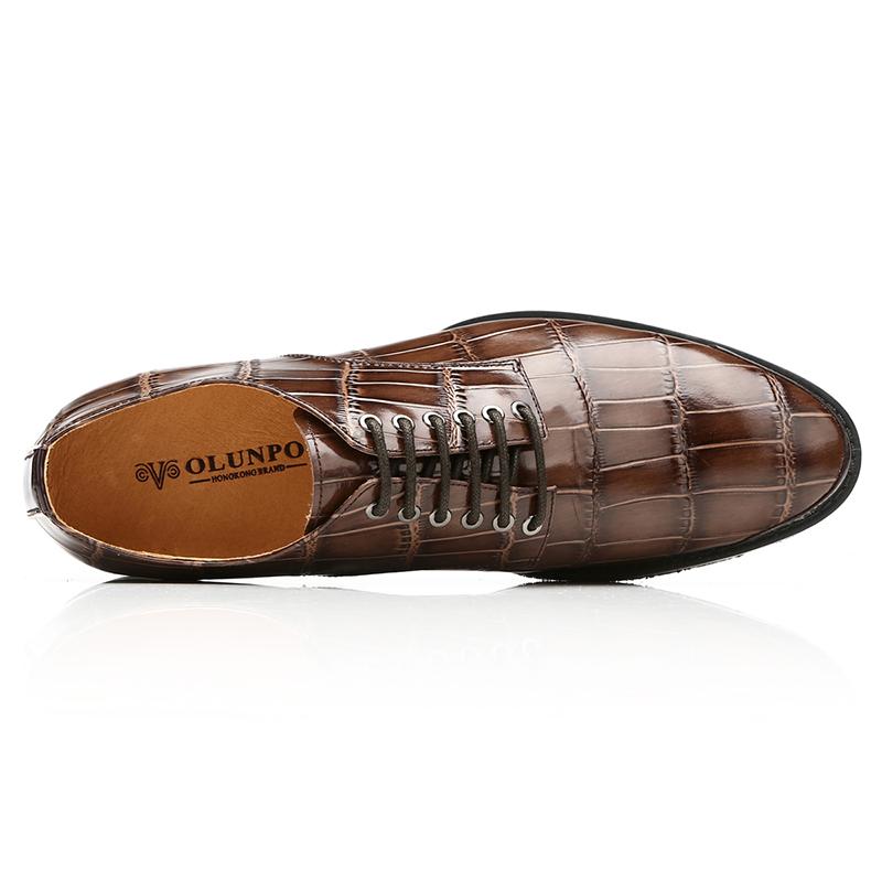 Giầy da nam thời trang Olunpo QDT1301