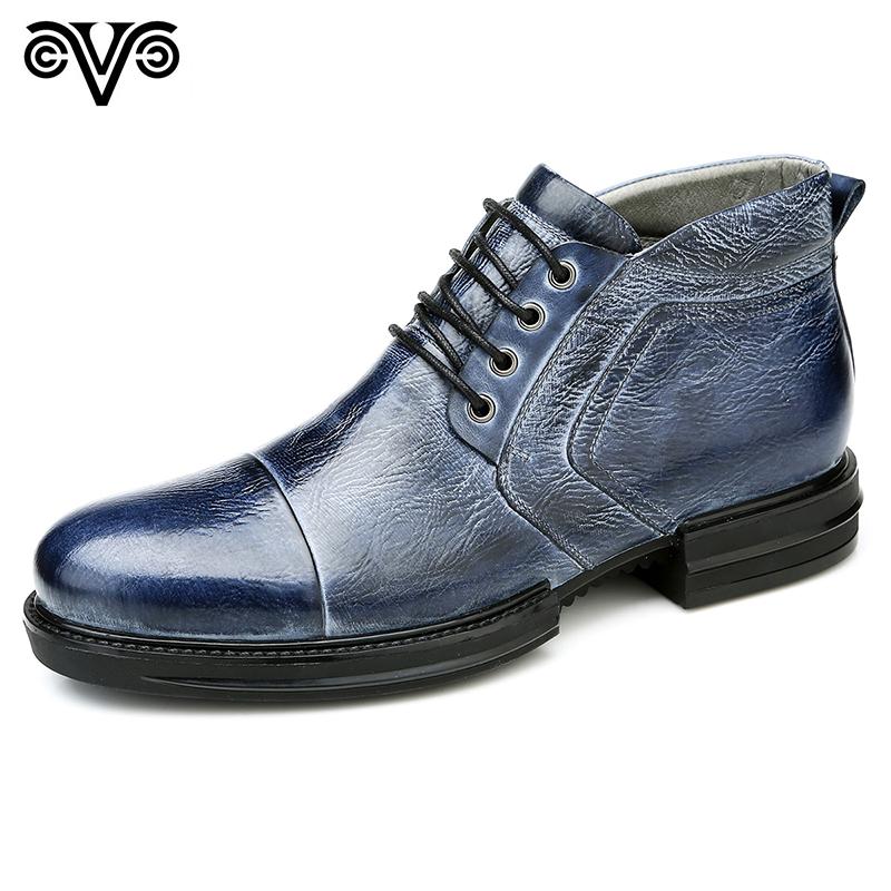 Giày da nam cổ cao sành điệu Olunpo QABA1411