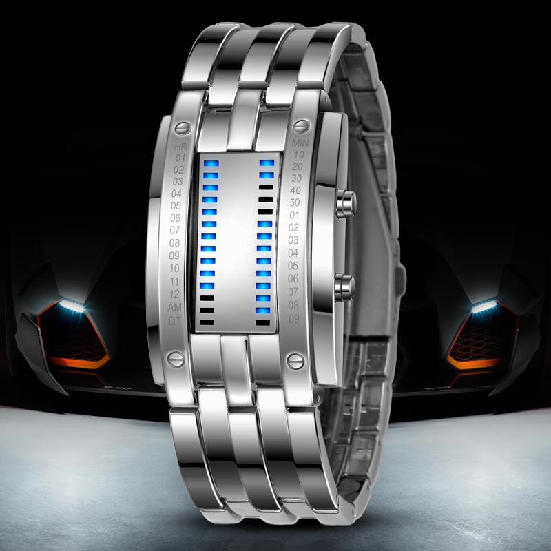 Đồng hồ nam Skmei SK-0926 2 cột đèn Led